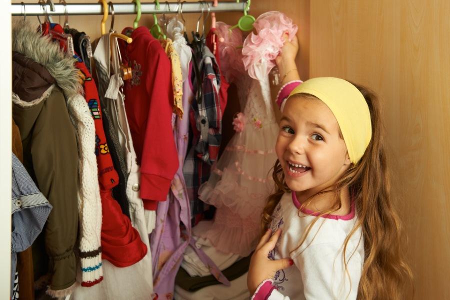 Come organizzare l'armadio dei tuoi bambini 6