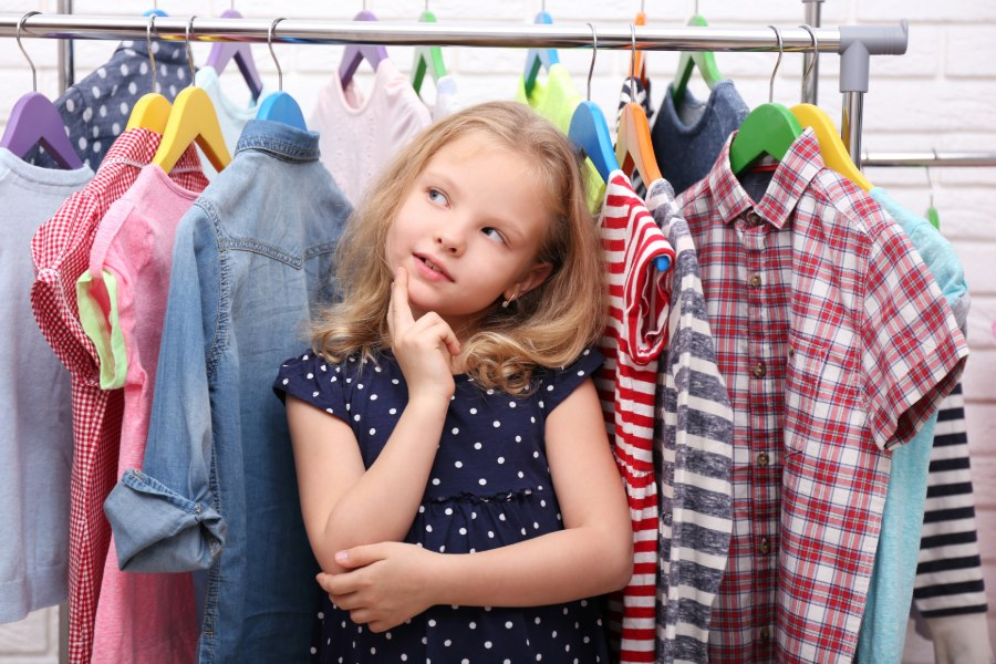 Come organizzare l'armadio dei tuoi bambini 1