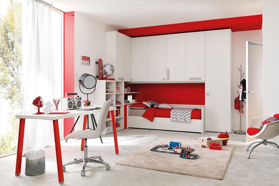 Il colore delle pareti della cameretta: non solo un fatto di estetica bianco rosso