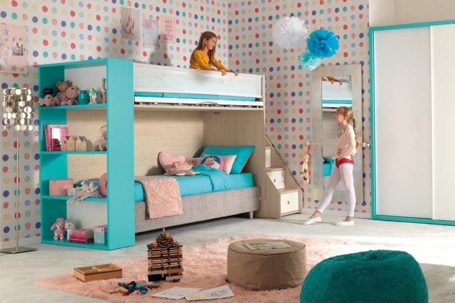 Cameretta per bambina moderna e colorata: 3 soluzioni 2