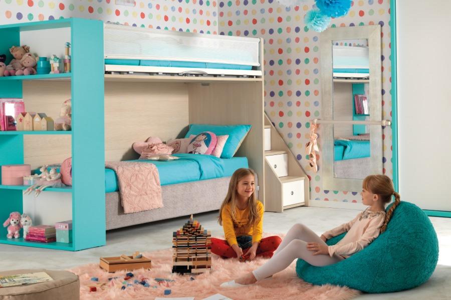 Cameretta per bambina moderna e colorata: 3 soluzioni 4