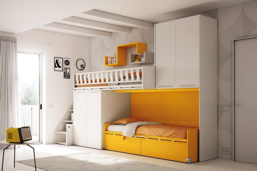 Camerette moderne per bambini: le proposte di Moretti Compact 5