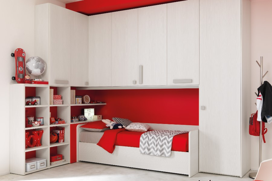 Camerette moderne per bambini: le proposte di Moretti Compact 3