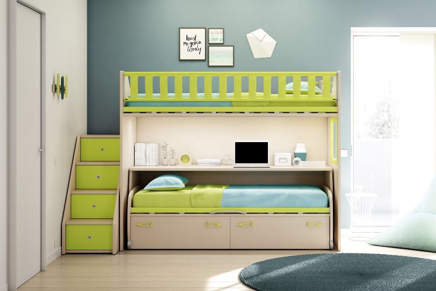Camerette moderne per bambini: le proposte di Moretti Compact 4