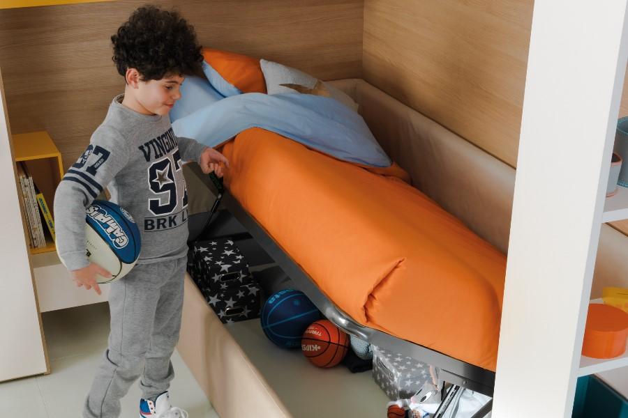 Camerette moderne per bambini: le proposte di Moretti Compact 2