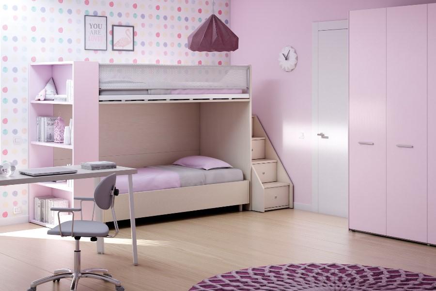 Come rinnovare la cameretta per bambini all'insegna del risparmio e della semplicità? camera rosa