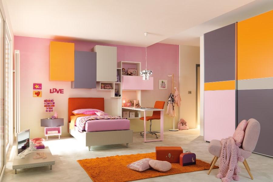 Il colore delle pareti della cameretta: non solo un fatto di estetica camera colorata