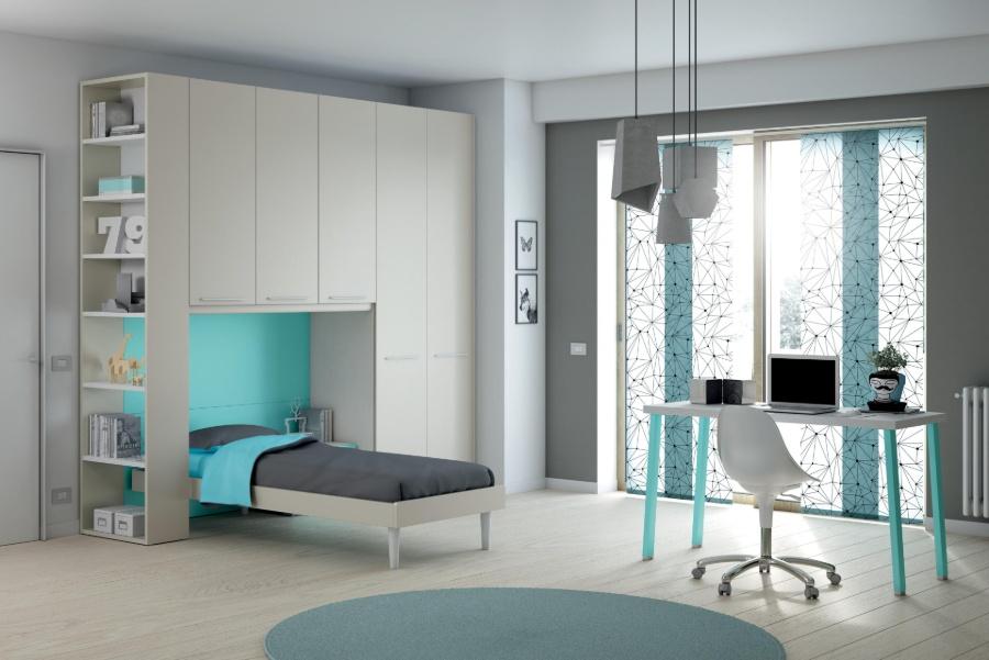 Il colore delle pareti della cameretta: non solo un fatto di estetica grigio azzurro
