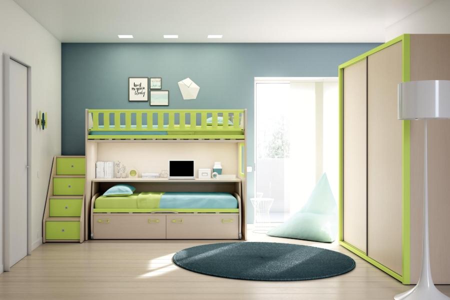 Quali sono i colori di tendenza per la cameretta dei bambini 2020 verde grigio