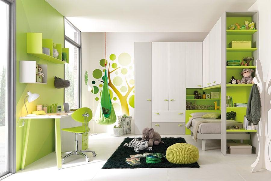 cameretta verde
