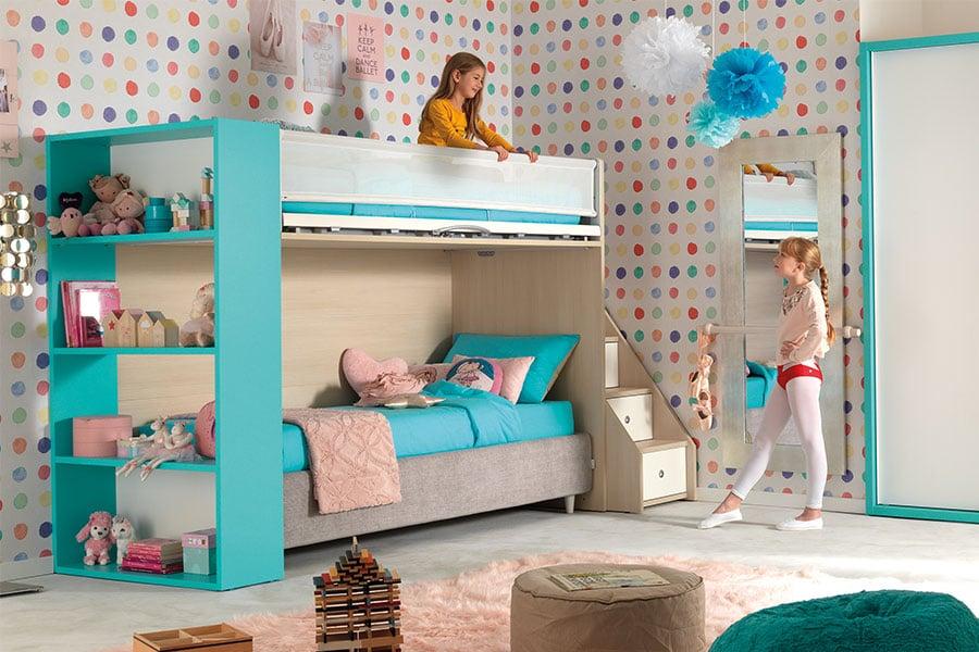 Perché scegliere la cameretta per bambini a soppalco: tutti i vantaggi 1