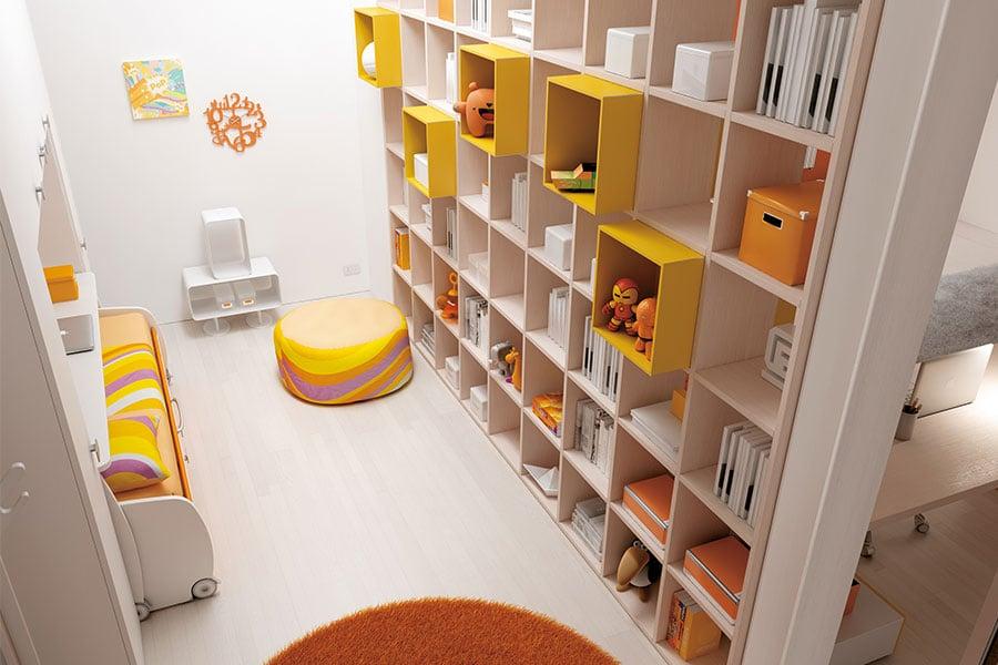 Camerette componibili Moretti Compact: arreda la stanza su misura per i tuoi figli 2