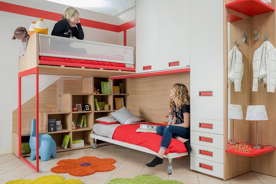 Il letto a castello per bambini è sicuro? Consigli, vantaggi e svantaggi 3