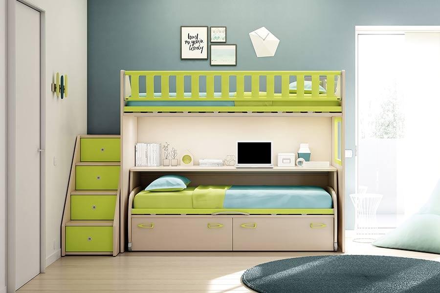 Il letto a castello per bambini è sicuro? Consigli, vantaggi e svantaggi 4