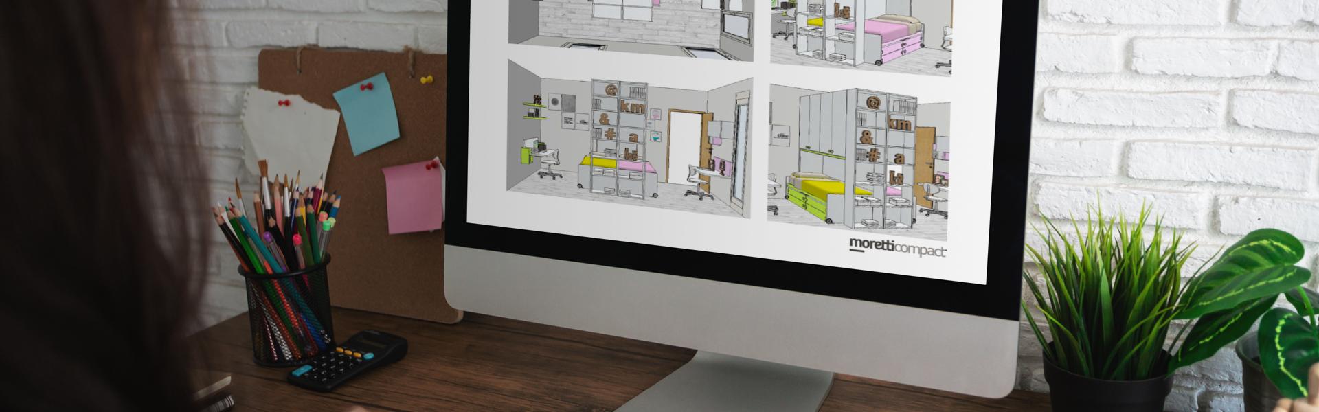 Servizio di progettazione online di Moretti Compact